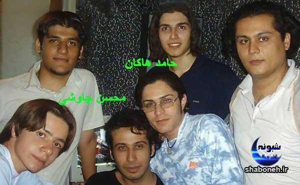 عکس های قدیمی محسن چاوشی