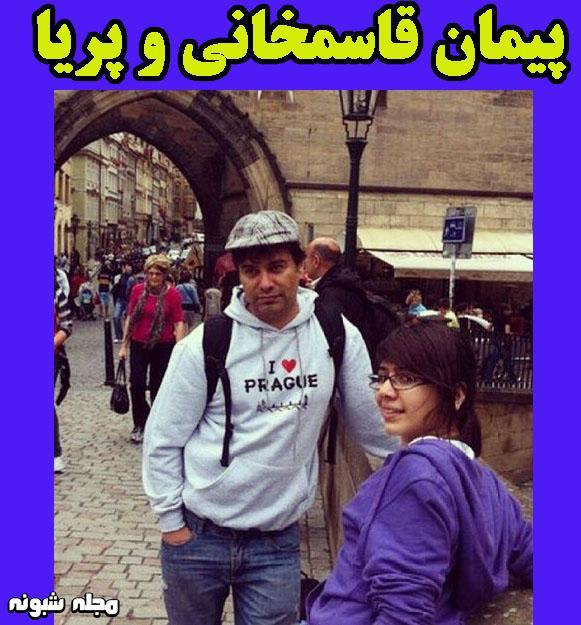 بیوگرافی پیمان قاسم خانی و همسرش
