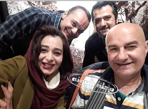 عکس خانوادگی سانیا سالاری