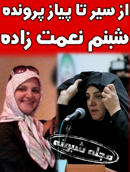 شبنم نعمت زاده کیست؟ بیوگرافی و بازداشت و محاکمه و عکس قبل و بعد از دستگیری شبنم نعمت زاده