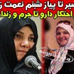 بیوگرافی شبنم نعمت زاده دختر وزیر + محکوم شدن به 20 سال زندان
