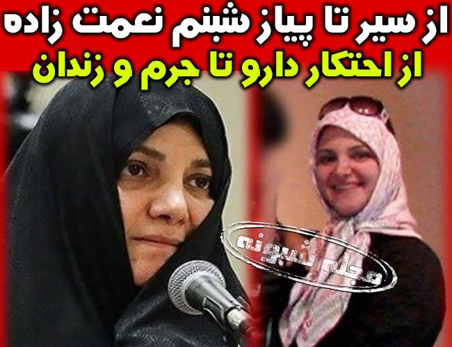 شبنم نعمت زاده کیست دختر وزیر سابق معدن و تجارت + بیوگرافی شبنم نعمت زاده