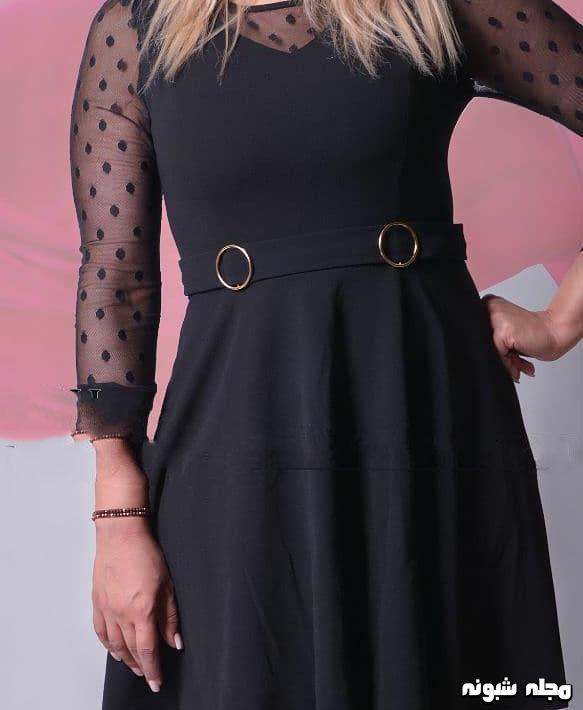 مدل لباس مشکی زنانه