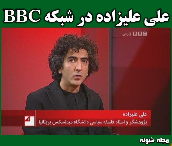 بیوگرافی علی علیزاده تحلیلگر سیاسی