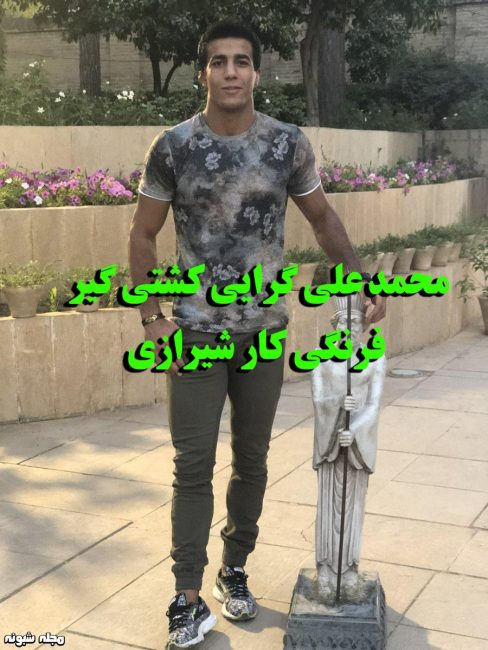 بیوگرافی محمد علی گرایی کشتی گیر