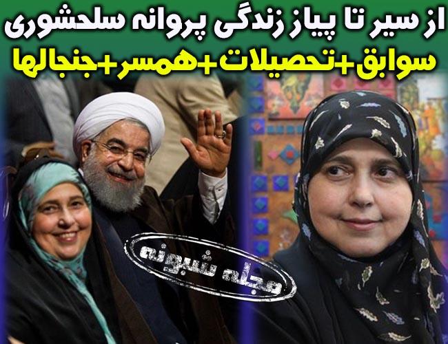 پروانه سلحشوری نماینده مجلس و همسرش +بیوگرافی و سوابق