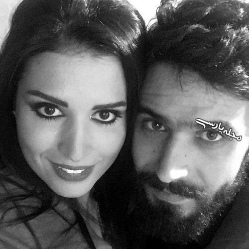 بیوگرافی آن ماری سلامه بازیگر لبنانی و همسرش سریال حوالی پاییز + عکس بی حجاب