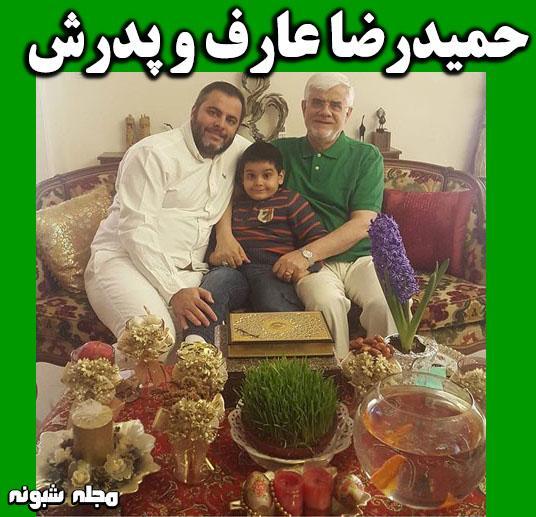 بیوگرافی حمیدرضا عارف پسر محمدرضا عارف