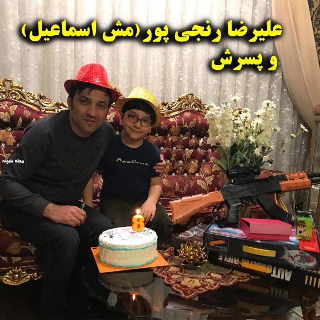بیوگرافی علیرضا رنجی پور (مش اسماعیل) + عکس و ازدواج و کلیپهای صمدممد