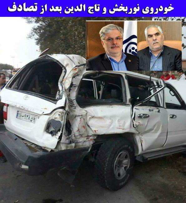 بیوگرافی تقی نوربخش و همسرش + عکس تصادف و درگذشت نوربخش