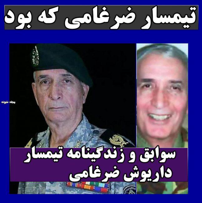 بیوگرافی داریوش ضرغامی و درگذشت تیمسار ضرغامی + سوابق و علت مرگ