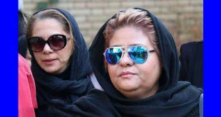 زیبا بروفه در مراسم تشییع همسرش + تصاویر چهره ها در خاکسپاری
