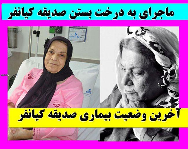 بیوگرافی و درگذشت صدیقه کیانفر بازیگر و همسرش +عکس جوانی و بیماری