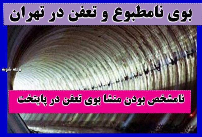 بوی نامطبوع در تهران علت بوی تعفن در پایتخت چیست