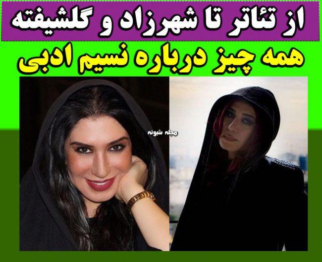 بیوگرافی و عکس های نسیم ادبی سریال شهرزاد اینستاگرام و تصاویر جنجالی