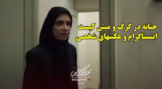 بازیگر نقش حنانه در سریال لحظه گرگ و میش کیست + عکسهای شخصی