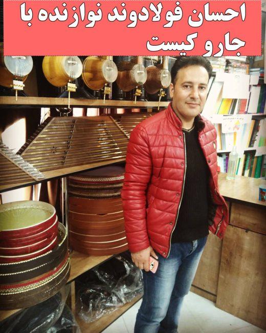 بیوگرافی احسان فولادوند