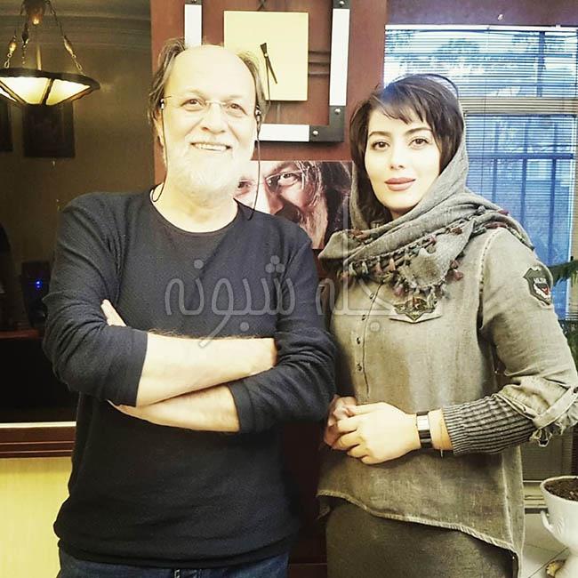 عکس های هدیه بازوند بازیگر نقش روژان در سریال نون خ