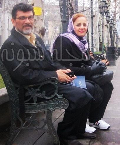 بیوگرافی بهروز تشکر مجری و همسرش + پسر و دخترانش