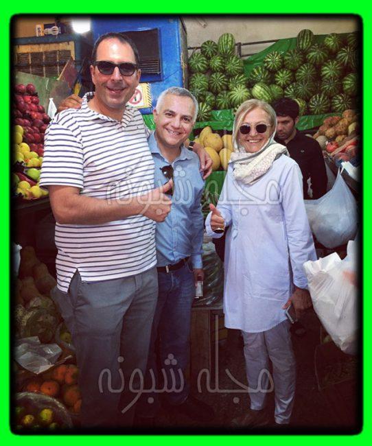 بیوگرافی سامان گلریز سراشپز و همسرش