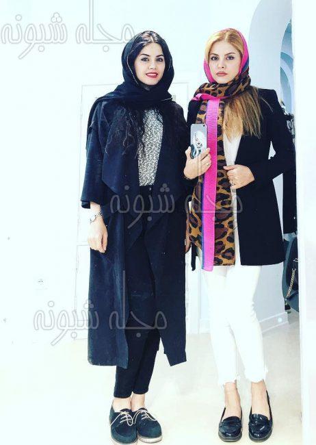 خواهران دوقلو در سریال دنگ و فنگ روزگار (ساره و ستاره صحرايي)