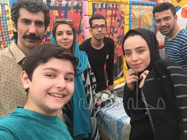 """بازیگر نقش نوید در سریال دنگ و فنگ روزگار """"ژیار محمدزاده"""""""
