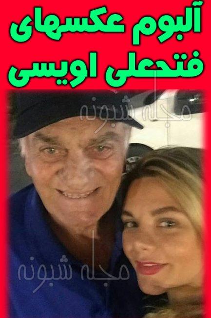 بیوگرافی فتحعلی اویسی و همسرش