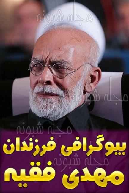بیوگرافی مهدی فقیه بازیگر