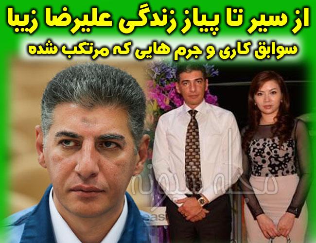 علیرضا زیبا حالت منفرد جعبه سیاه بابک زنجانی