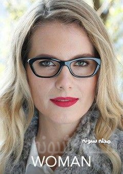 مدل عینک گربه ای زنانه