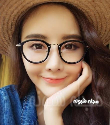 مدل فریم دایره ای عینک دخترانه