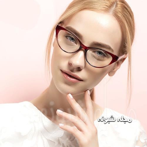 مدل فریم عینک گربه ای دخترانه