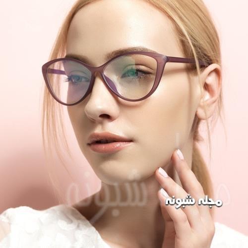 فریم عینک دخترانه لوزی شکل اسپورت