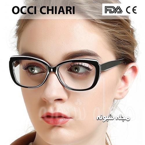 عینک طبی دخترانه کلفت و کوچک
