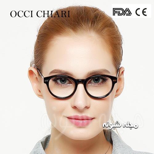 مدل جدید فریم کلفت عینک دخترانه