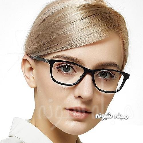 مدل فریم مشکی عینک طبی جدید