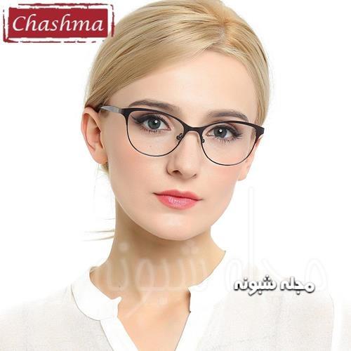 مدل فریم بزرگ عینک طبی جدید دخترانه