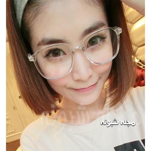 مدل عینک دکوری دخترانه و فریم بزرگ عینک دخترونه