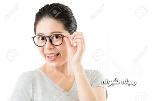 فریم عینک دایره ای شیک