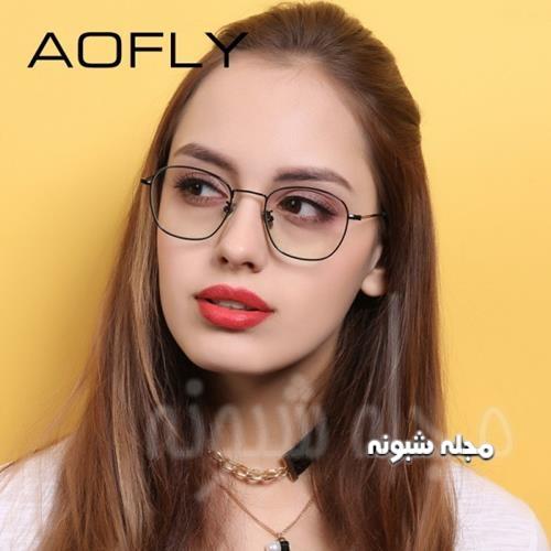 مدل فریم عینک طبی دایره ای جدید