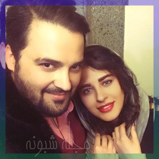 عکس های دو نفره و عاشقانه مهدی سلوکی و همسرش