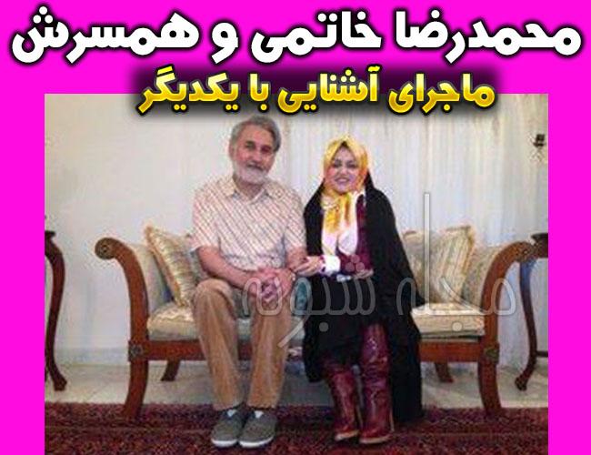 عکس لو رفته محمدرضا خاتمي انتخابات و همسرش زهرا اشراقي