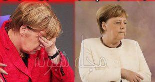"""بیماری آنگلا مرکل چیست؟ """"علت لرزش بدن آنگلا مرکل صدراعظم آلمان"""""""