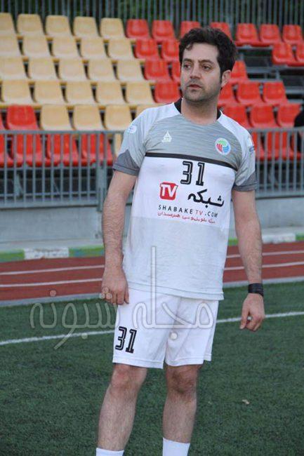 بهامین تورانی عضو تیم فوتبال هنرمندان