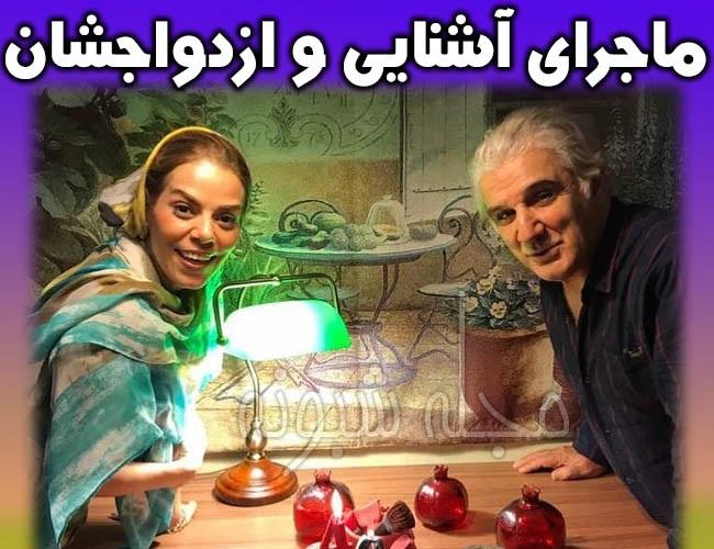 ازدواج دوم مهدی هاشمی با مهنوش صادقی بازیگر   ازدواج مجدد مهدي هاشمي