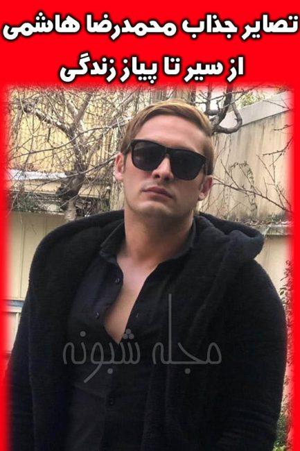 عکس های جذاب محمدرضا هاشمی بازیگر نقش شهاب در سریال بوی باران