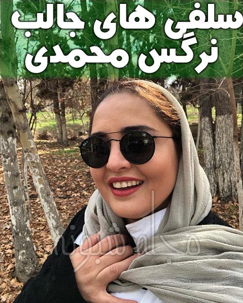 سلفی نرگس محمدی