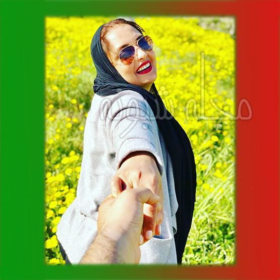 عکس های عاشقانه نرگس محمدی