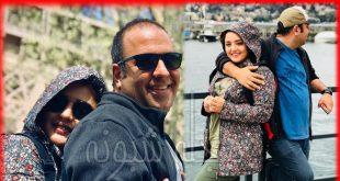 عکس های نرگس محمدی و همسرش علی اوجی +تصاویر عاشقانه دو نفره