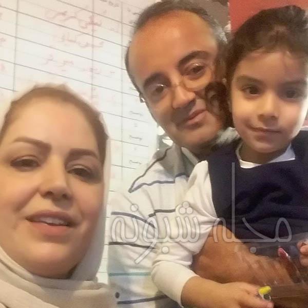 بیوگرافی راضیه شیرمحمدی و همسرش + اینستاگرام